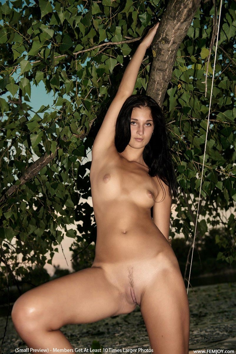 Swamp woman nude adult photo