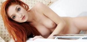 beautiful-redhead-enjoying-her-bath