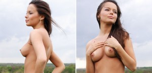 fit-naked-girl-by-in-the-field