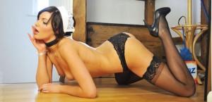 maid chloe gets naked