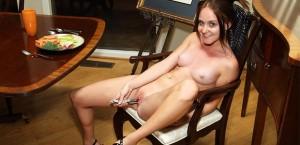 sadie-grey-strips-naked